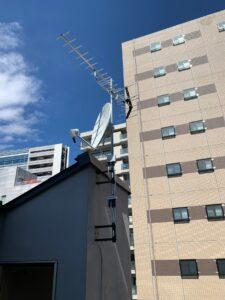 新宿区アンテナ工事施工事例
